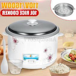 10L 22-cup 1600W 110V Automatic Rice Cooker Non-stick steam