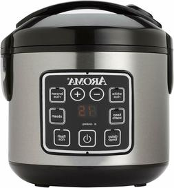 2-8-Cups  Digital Cool-Touch Rice Grain Cooker and Food Stea