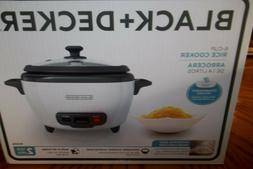2-IN-1 BLACK+DECKER RC506 6-Cup Cooked3-Cup Uncooked Rice Co