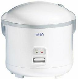 Oster 20-Cup Rice Cooker, White