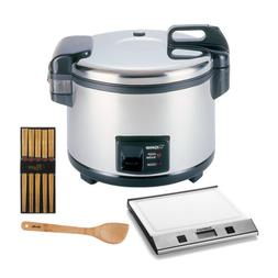 Zojirushi 20-Cup  Commercial Rice Cooker/Warmer + Kitchen Sc
