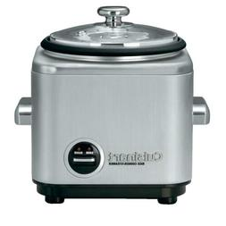 Cuisinart 4 Cup Rice Cooker With Non-Stick Interior Stainles