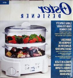 Oster 4711 Designer Large 6 Quart Capacity Food Steamer and