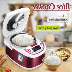 5L Rice Cooker Porridge Maker Food Electric Steamer Kitchen