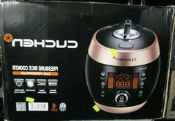 Cuchen 6 Cup Pressure Rice Cooker CJS-FD0600RVUS Pink/Black