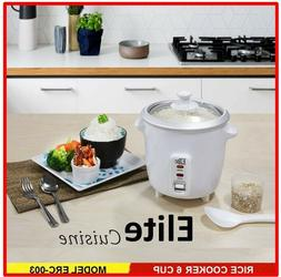 Elite Cuisine 6-cup rice cooker ERC-003 Maxi-Matic with glas