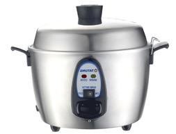 Tatung 6-Cup Stainless Steel Multi-Functional Rice Cooker TA