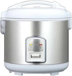 7 Cup Rice Cooker, Cookware Bowl Steamer Keep Warm Stainless