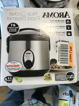 Aroma 8 Cup Rice Cooker - Stainless Steel ARC-904SB MINOR BO