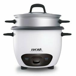 Aroma Housewares 14-Cup    Pot-Style Rice Cooker & Food Stea