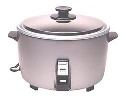 Panasonic Commercial Electric Rice Cooker, Silver