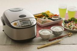 Zojirushi 5-1/2 Cup Micom Rice Cooker w/ 15-Inch Bamboo Spat