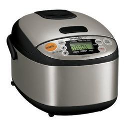 Zojirushi NS-LAC05XT Micom 3-Cup Rice Cooker and Warmer, Bla