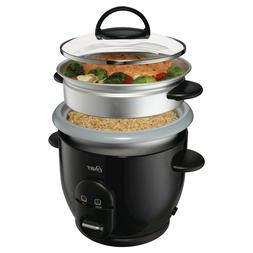 Anodized Oster DuraCeramic 6 Cup Rice Cooker with Steamer- B