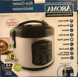 Aroma Housewares ARC-954SBD Rice Cooker, 4-8 cups cooked