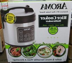 Aroma Housewares ARC150SB Digital Rice Cooker - Silver