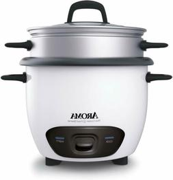 Aroma 6-Cup   Pot Style Rice Cooker&Food Steamer