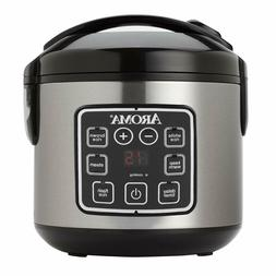 Aroma ARC-914SBD 2-8-Cups  Digital Cool-Touch Rice Cooker &