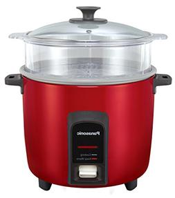 Panasonic 12 Cup  Automatic Rice Cooker/Steamer, Red