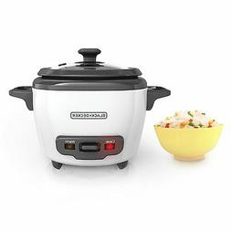 BLACK+DECKER RC503 Mini 3-Cup Cooked/1.5-Cup Uncooked Rice C