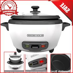 BLACK+DECKER RC506 6-Cup Cooked/3-Cup Uncooked Rice Cooker &
