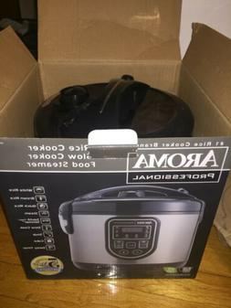 Aroma Housewares BRAND NEW IN BOX Slow Cooker/Rice Cooker/Fo