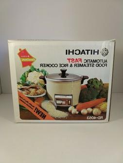 Hitachi Chime-O-Matic Rice Cooker / Steamer Model RD-4053 -