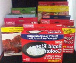 Rapid Brands Cookers - Rice, Egg, Ramen, Brownie, Mac, Veggi