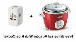 Prestige Delight Electric Rice Cooker 700 W 230 V Steamer Wi