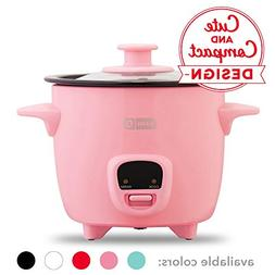 Dash DRCM200GBPK04 Mini Rice Cooker Steamer with Removable N