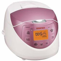 Cuckoo 6-Cup Electric Heating Rice Cooker, CR-0631F, 120V