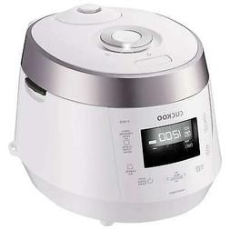 Cuckoo 10-Cup Electric Pressure Rice Cooker, CRP-P1009SB, 12