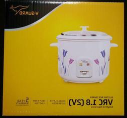 Electric Rice White Cooker PRWO 1.8 2 700 Watts Delight 2 Al