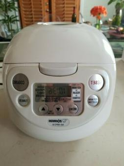 Zojirushi Electronic NS-WPC10 Micom Rice Cooker and Warmer,