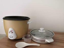 Export Elite Gourmet 1.5L Electric Rice Cooker with Stainles