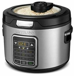 Gourmia GRC970 11-in-1 Digital 20-Cup Rice Cooker | Cooks Gr