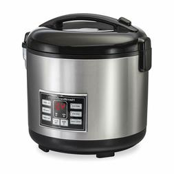 Hamilton Beach  Rice Cooker, 10 Cups uncooked resulting in n