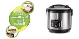 Hamilton Beach  Rice Cooker, 7 Cups uncooked resulting Stain