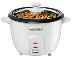 Hamilton Beach Brands, Inc. Rice Cooker,10 Cup W/Steam Bsk,
