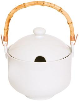 Helen Chen's Asian Kitchen Perfect Rice Cooker, Porcelain wi