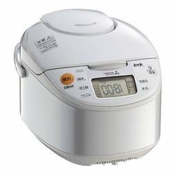 IH jar rice cooker NJ-NH106-W Mitsubishi White 5.5GO Cooking