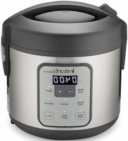 Instant Zest 8 Cup Rice Cooker, Steamer, Cooks Rice, Grains,