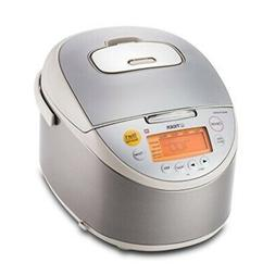 Tiger JKT-B18U-C Rice Cooker with Oatmeal Cooker, Stainless