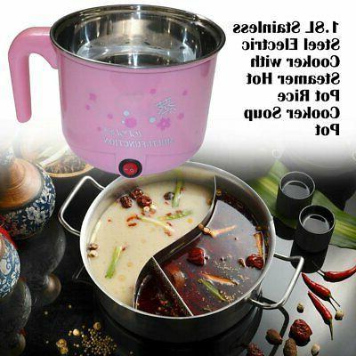 1.8L Steel Pot Rice Soup Pot#E
