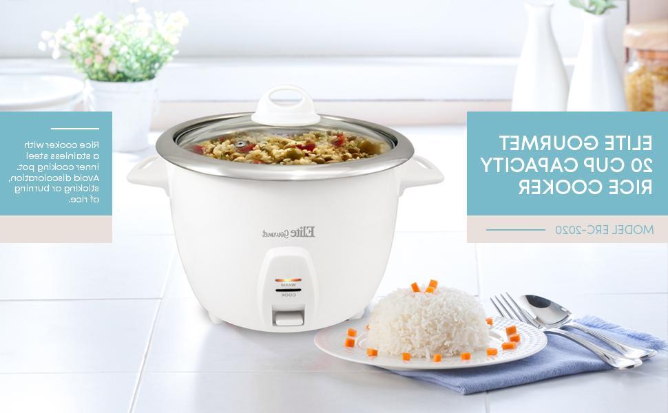 10 Cups Cooker Food Steamer Warmer Stainless Inner