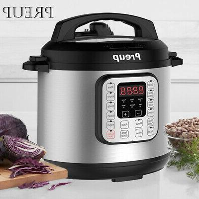 1000w digital instant pressure cooker 6 litre