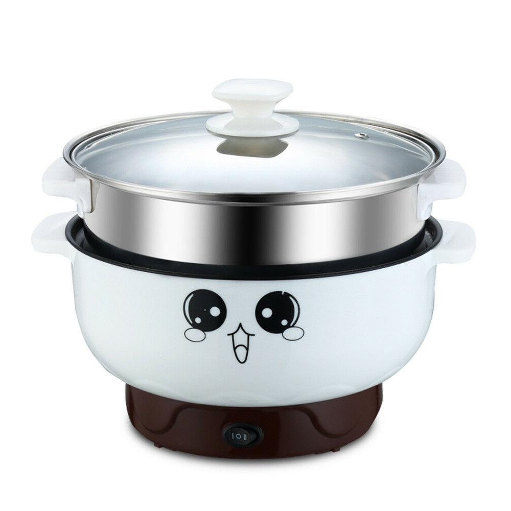 Student Stainless Steel Cooker w/Steamer Pot Rice