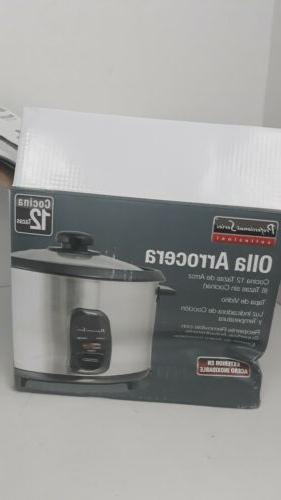 Continental 12-Cup Cooker PS75068 New.