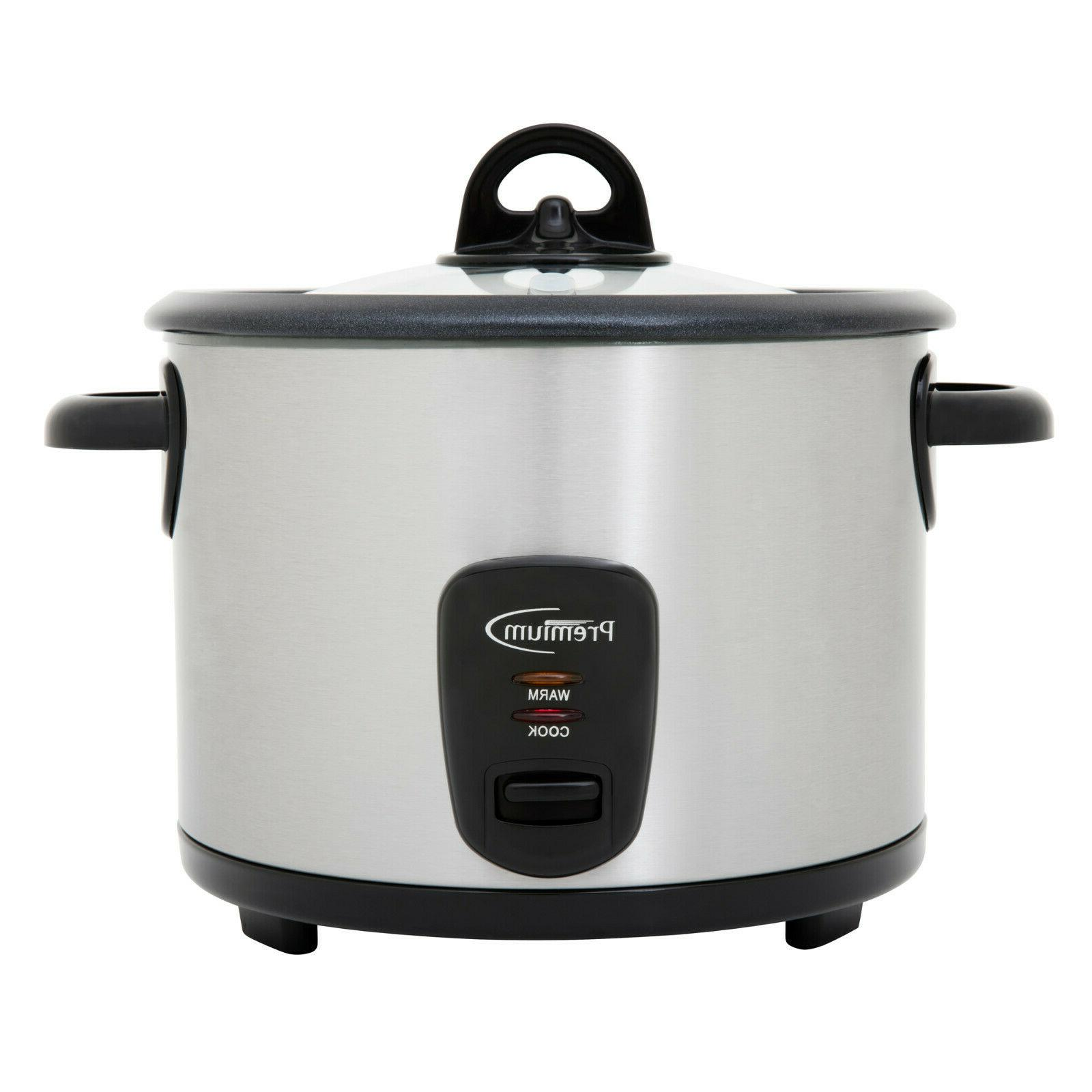 16 cup rice cooker stainless steel glass