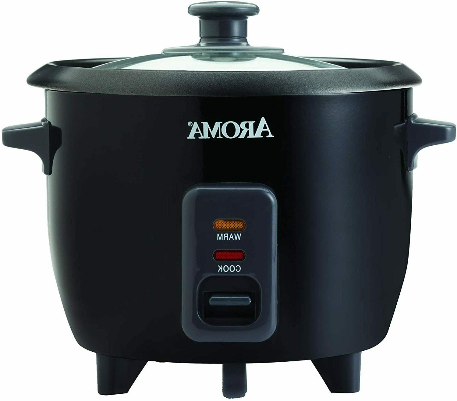 2-6 Cups Cooked Rice Cooker Multicooker Steamer Housewares A